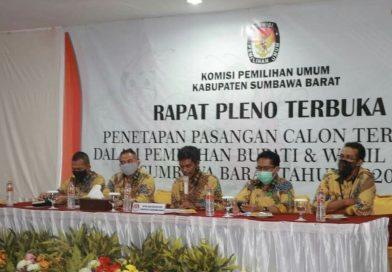 KPU KSB Tetapkan Pasangan Firin-Fud sebagai Paslon Terpilih